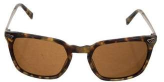 John Varvatos Tinted Square Sunglasses