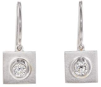 Irene Neuwirth Women's Square-Drop Earrings