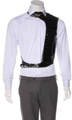 Jean Paul Gaultier Patent Leather Harness Vest