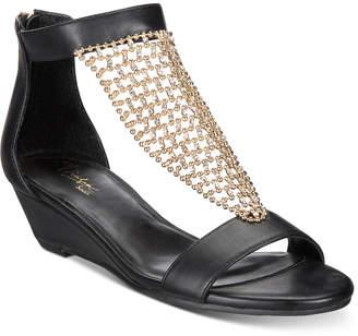 278aa84d250687 ... Thalia Sodi Tibby Mesh Embellished Wedge Sandals