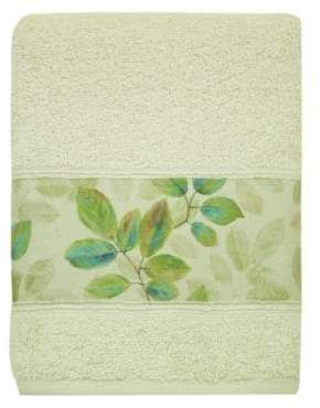 Bacova Guild Waterfall Leaves Hand Towel