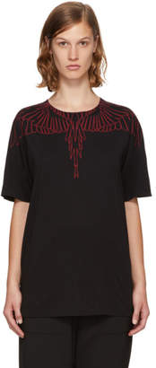 Marcelo Burlon County of Milan Black Mawida T-Shirt