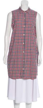 Steven Alan Sleeveless Button-Up Tunic