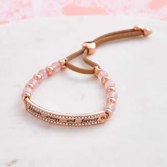 Forever Friends My Posh Shop Rose Quartz Bracelet