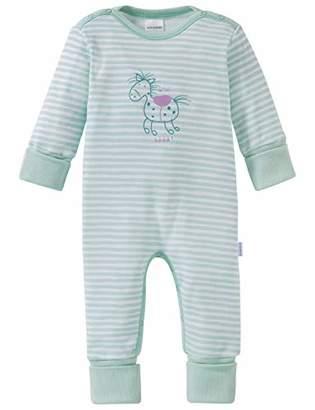 Schiesser Girls' Ponyhof Baby Anzug Mit Vario Pyjama Set