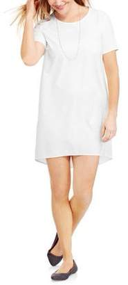 Faded Glory Women's Woven Tee Dress