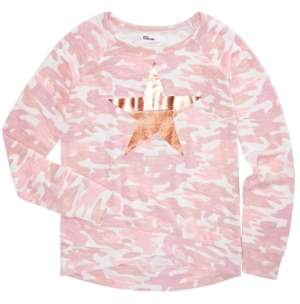 Epic Threads Toddler Girls Camo-Print Top, Created for Macy's