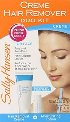 Sally Hansen Facial Hair Creme Remover Kit 1 ea (Pack of 5)