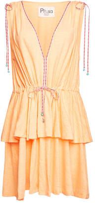 Pitusa Anastasia Mini Dress with Cotton