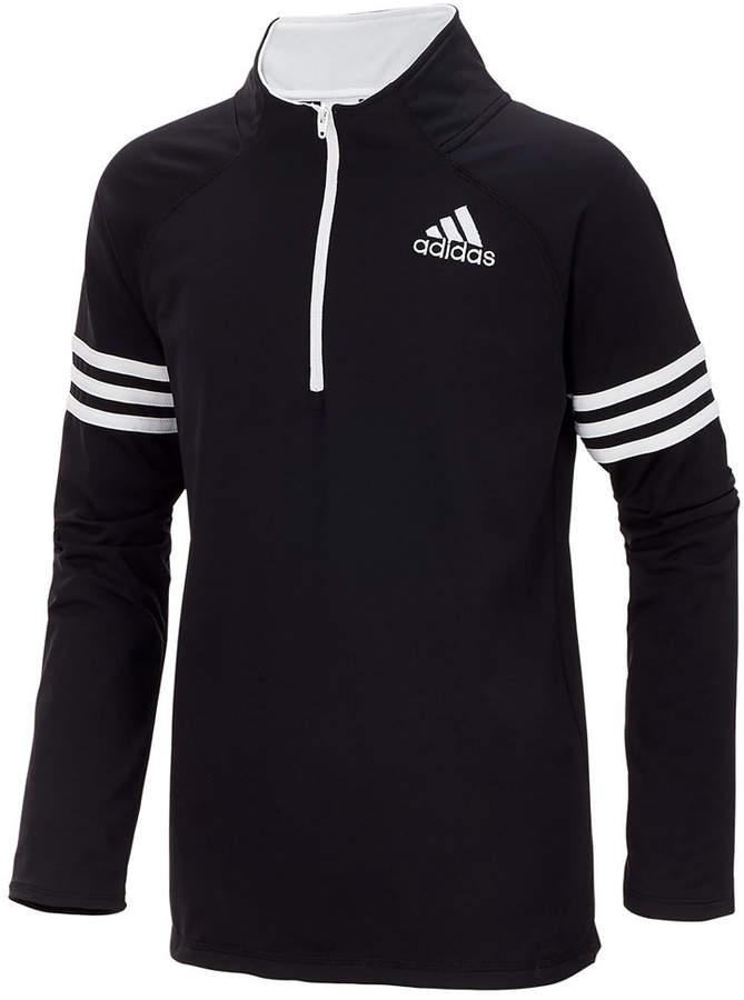 Quarter-Zip Pullover Jacket, Toddler Boys