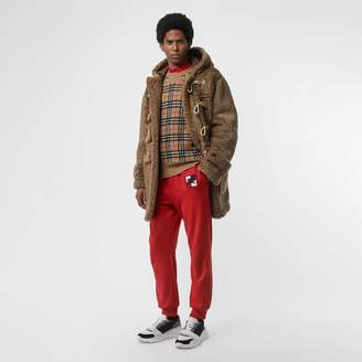 Burberry Chequer EKD Cotton Trackpants