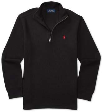 Polo Ralph Lauren Boy's Cotton Blend Half-Zip Pullover, (Small(8 yrs))