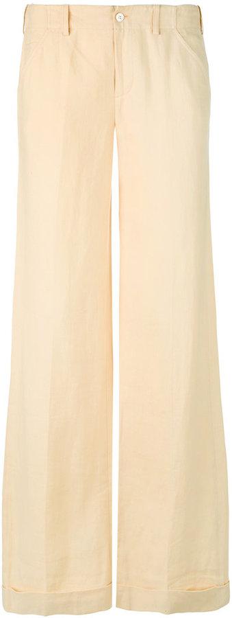 Ralph Lauren wide leg trousers