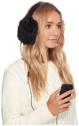 UGG Leopard Wired Earmuff Cold Weather Hats