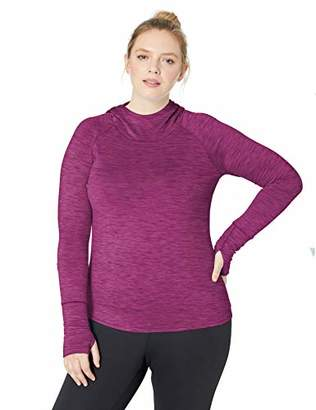 Core 10 Amazon Brand Women's Plus Size Be Warm Brushed Thermal Hoodie