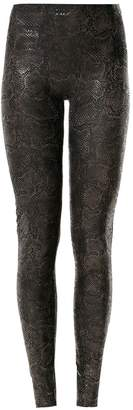 AMIR SLAMA printed leggings