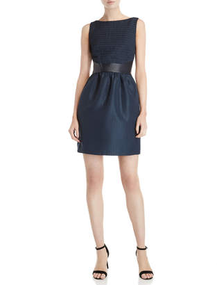 Raoul Navy Asheville Fit & Flare Dress
