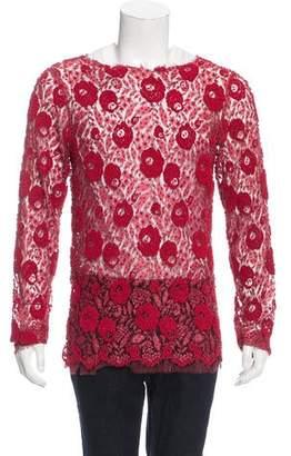 Gucci 2016 Lace Shirt