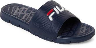 Fila Navy Coolwind 7 Sport Slide Sandals