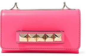 Valentino Va Va Voom Neon Leather Shoulder Bag