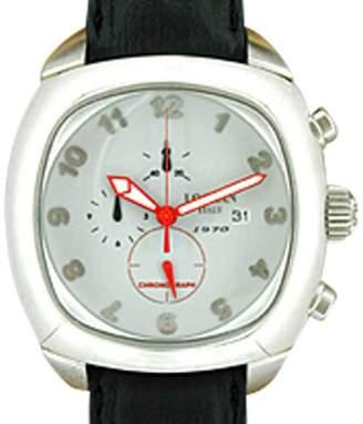 "Locman "" 1970 Chronograph"" Stainless Steel Mens Strap Watch"