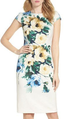 Women's Betsey Johnson Floral Midi Dress $148 thestylecure.com