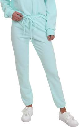 Juicy Couture Womens French Terry Jogger Sweatpants Blue M