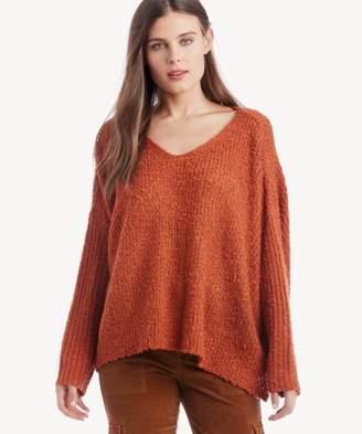 Sole Society Burnt Heart Sweater