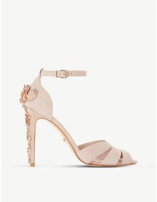 Dune Maisonn embellished-heel sandals