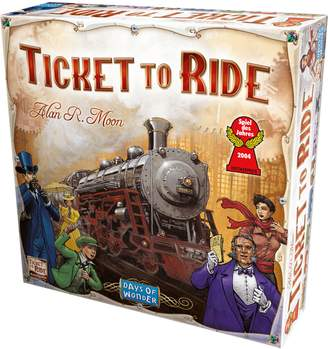 Asmodee Ticket to Ride Board Game