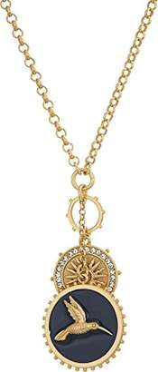 """Vince Camuto Women's 28"""" Pendant with Hummingbird Necklace"""