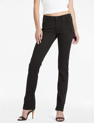 Lucky Brand Sweet Mid Rise Straight Leg Jean In Black Amber