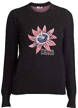 Kenzo Women's Passion Flower Sweater