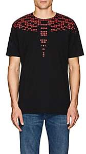Marcelo Burlon County of Milan MEN'S NUMBERS-PRINT CREWNECK T-SHIRT