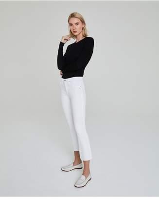 AG Jeans The Jodi Crop - White