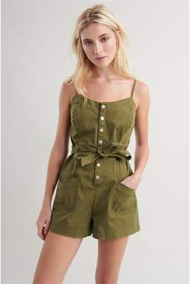 Garage Utility Romper - FINAL SALE