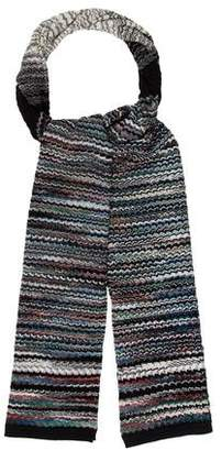 Missoni Abstract Knit Scarf