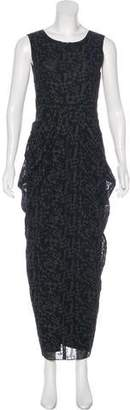 Zero Maria Cornejo Sleeveless Maxi Dress