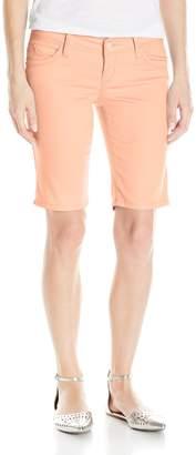 YMI Jeanswear Women's Wannabettabutt Twill Bermuda