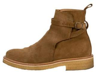 Ami Alexandre Mattiussi Suede Ankle Boots brown Suede Ankle Boots