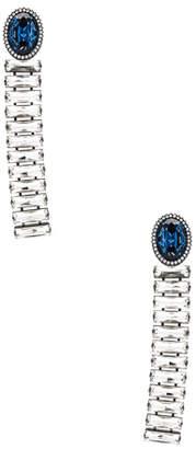 Stella McCartney Brass & Crystal Earrings