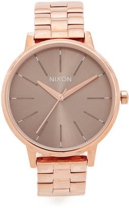 Nixon Kensington Watch $175 thestylecure.com