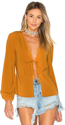 by the way. Meia Deep V Blouse