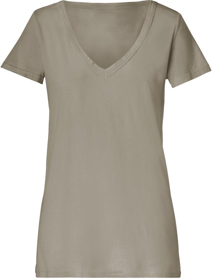 Market Walnut V-Neck T-Shirt