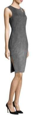 Milly Fractured Sheath Dress