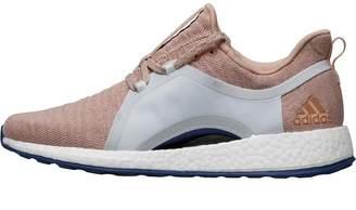 adidas Womens PureBOOST X Natural Running Shoes Ash Pearl/Ash Pearl/Blue Tint