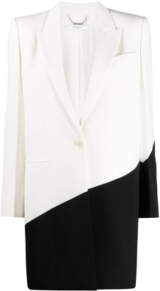 Givenchy two tone coat