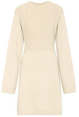 Chloé Exclusive to mytheresa.com – wool and cashmere dress