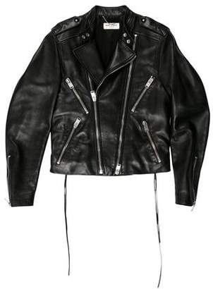 Saint Laurent 2013 Leather Cafe Racer Jacket