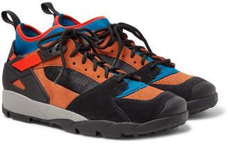 Nike Acg Air Revaderchi Suede, Mesh And Neoprene Sneakers